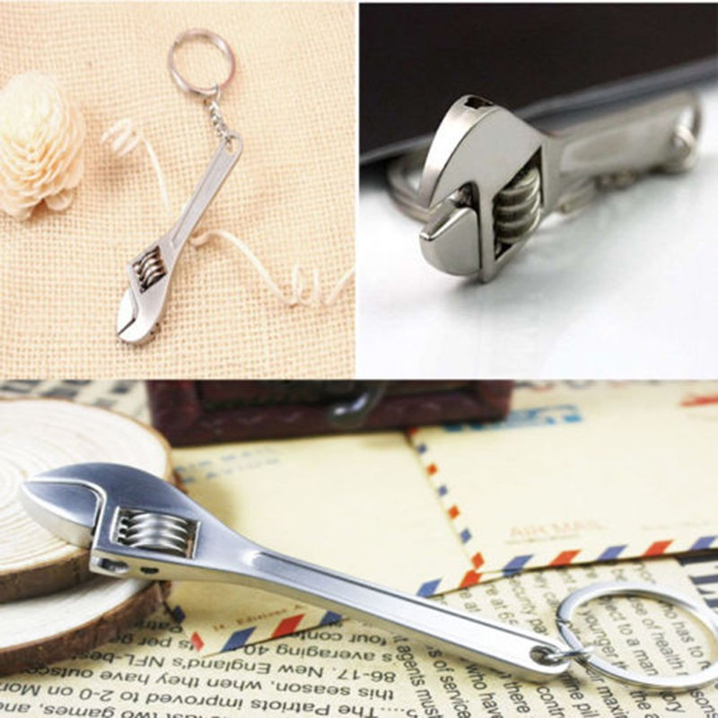 Tool Wrench Spanner Key Ring