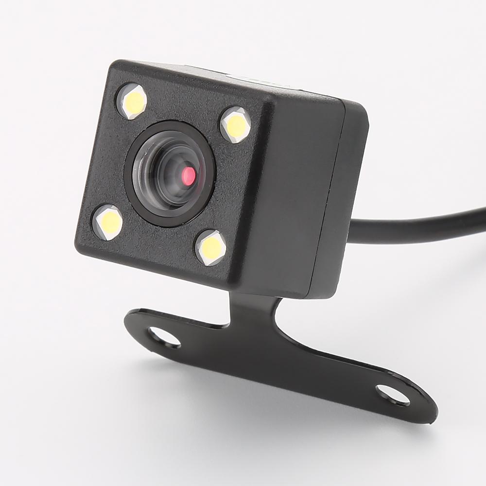 4 Led Reverse Camera Night Vision HD Rear View Camara Lens 2.5mm