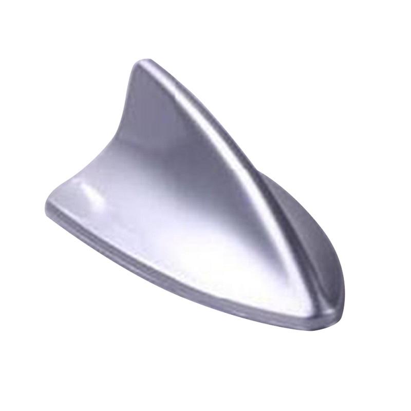 Universal Car Antenna Shark Fin Car styling Silver