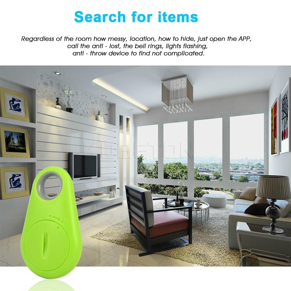 Smart Tag Bluetooth Finder Bag Wallet pet Key Finder Green