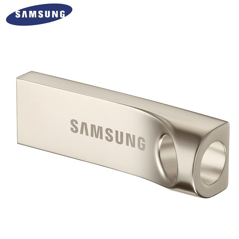USB 3.1 Flash Drive BAR Plus 32GB Champagne Silver
