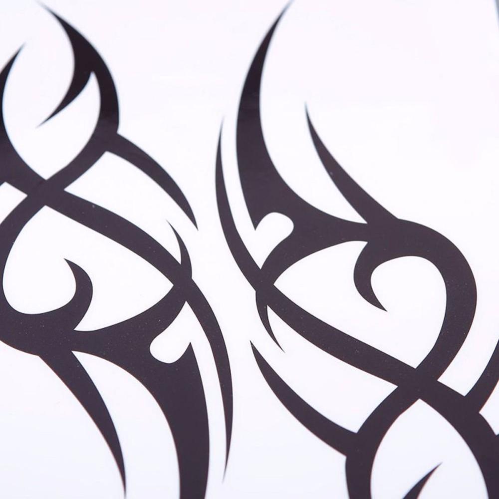 Visible. Half Sleeve Arm Temporary Tattoo Stickers Body Art Water Proof Tattoo Body Tattoo