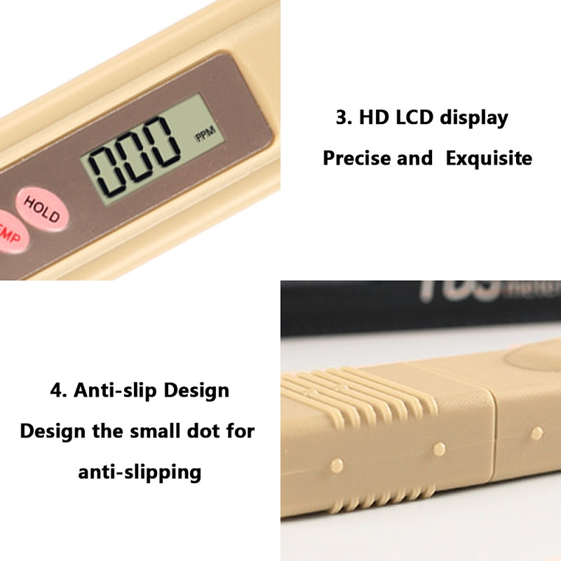 Portable Pen Digital TDS Meter Filter Measuring Water High Quality Purity Tester