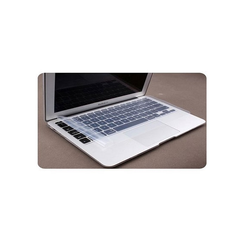 Laptop Keyboard Silicone Waterproof Protector Without Numpad Laptop - Transparent