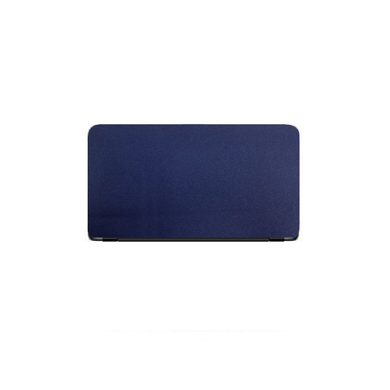 Universal Laptop Back Skin Glitter Texture - Blue