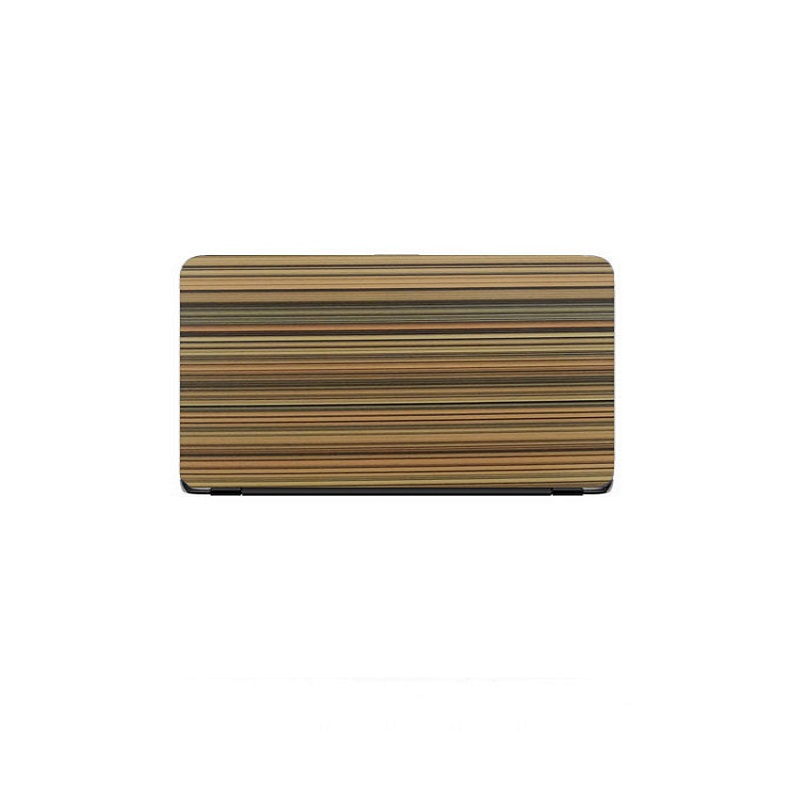 Universal Laptop Back Skin Wooden Texture
