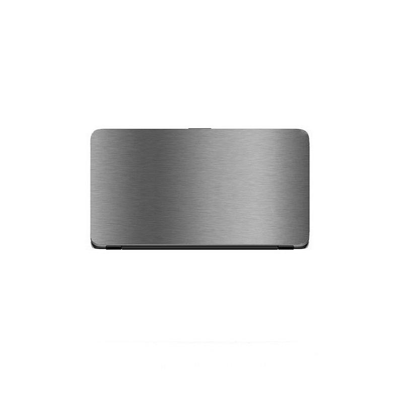 Universal Laptop Protector Steel Texture - Grey