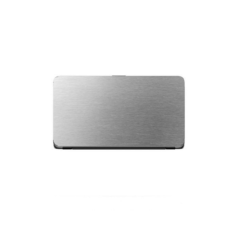 Universal Laptop Protector Steel Texture - Silver