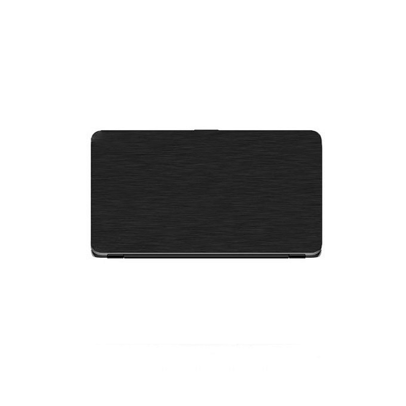 Universal Laptop Protector Steel Texture - Black