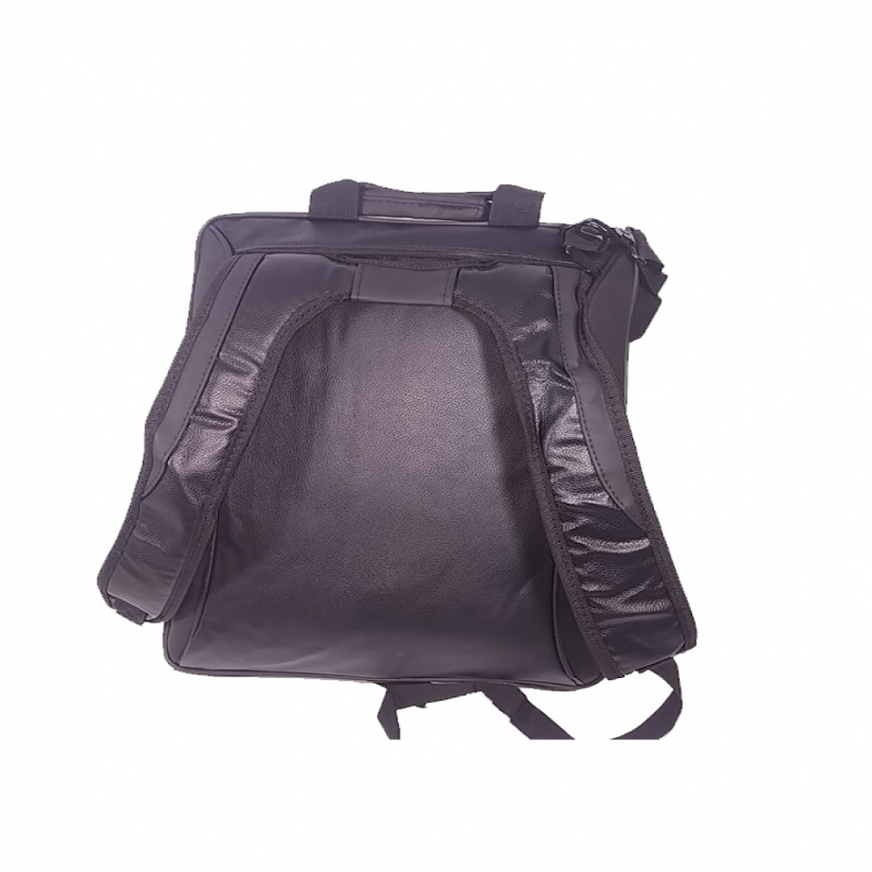 Laptop 3in1 leather Type PU Bag - Black