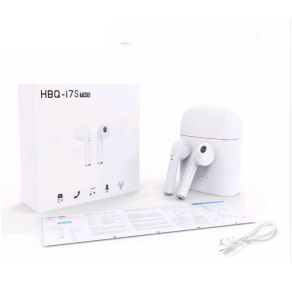 Twin True Wireless Earphone V4.2+DER H9Q I7S With Charging Dock