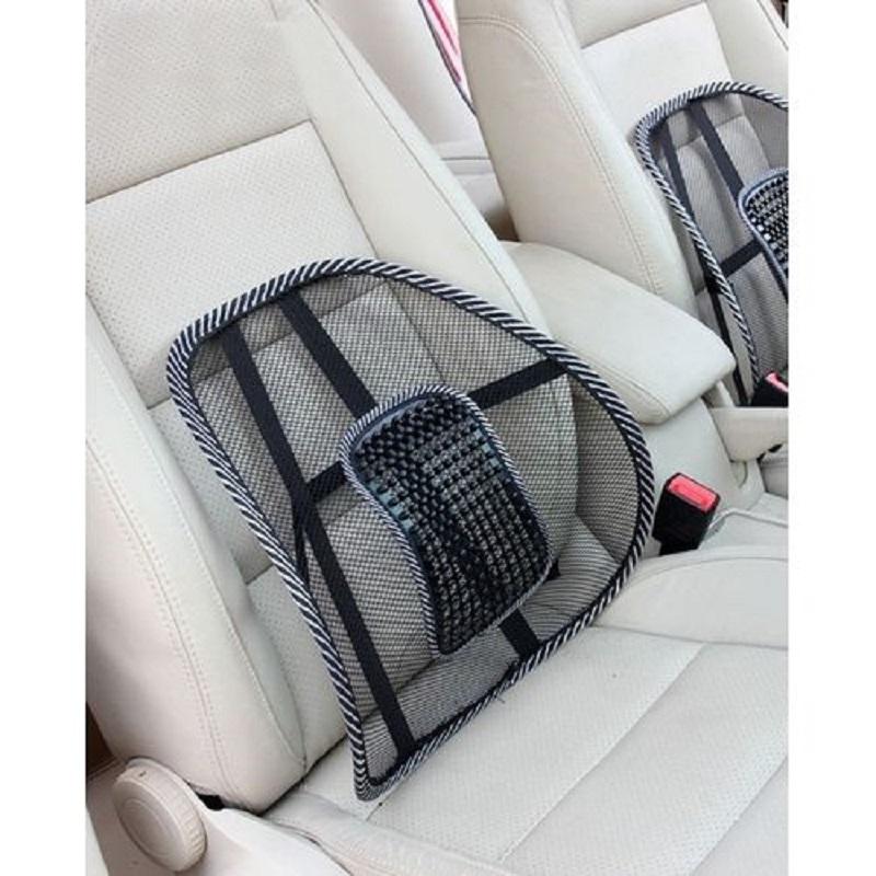 Car Seat Back Support Massage Cushion Mesh Relief Lumbar Brace Car Office Home