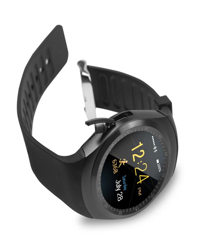 Smart Watch Y1s With GSM Slot For IOS And Android With Camera