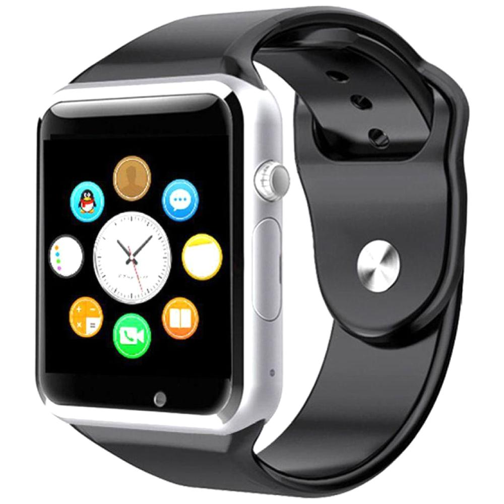 Smart Watch BLACK W08 With GSM Slot And Bluetooth Connectivity For IOS And Android Smart Phones
