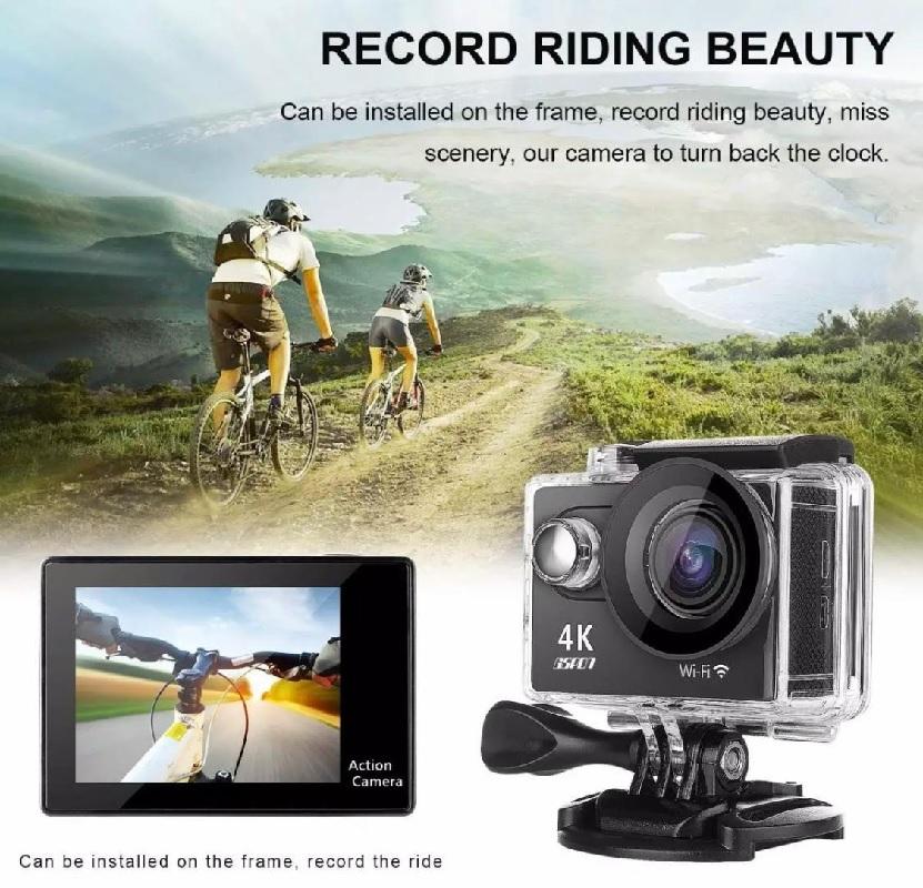 Action Sports Camera WiFi 4K
