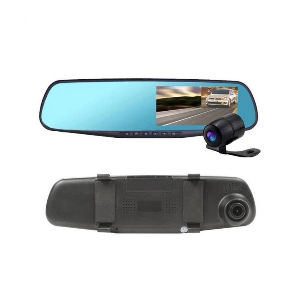 Car DVR Mirror DUAL Camera Front/Back 1080p