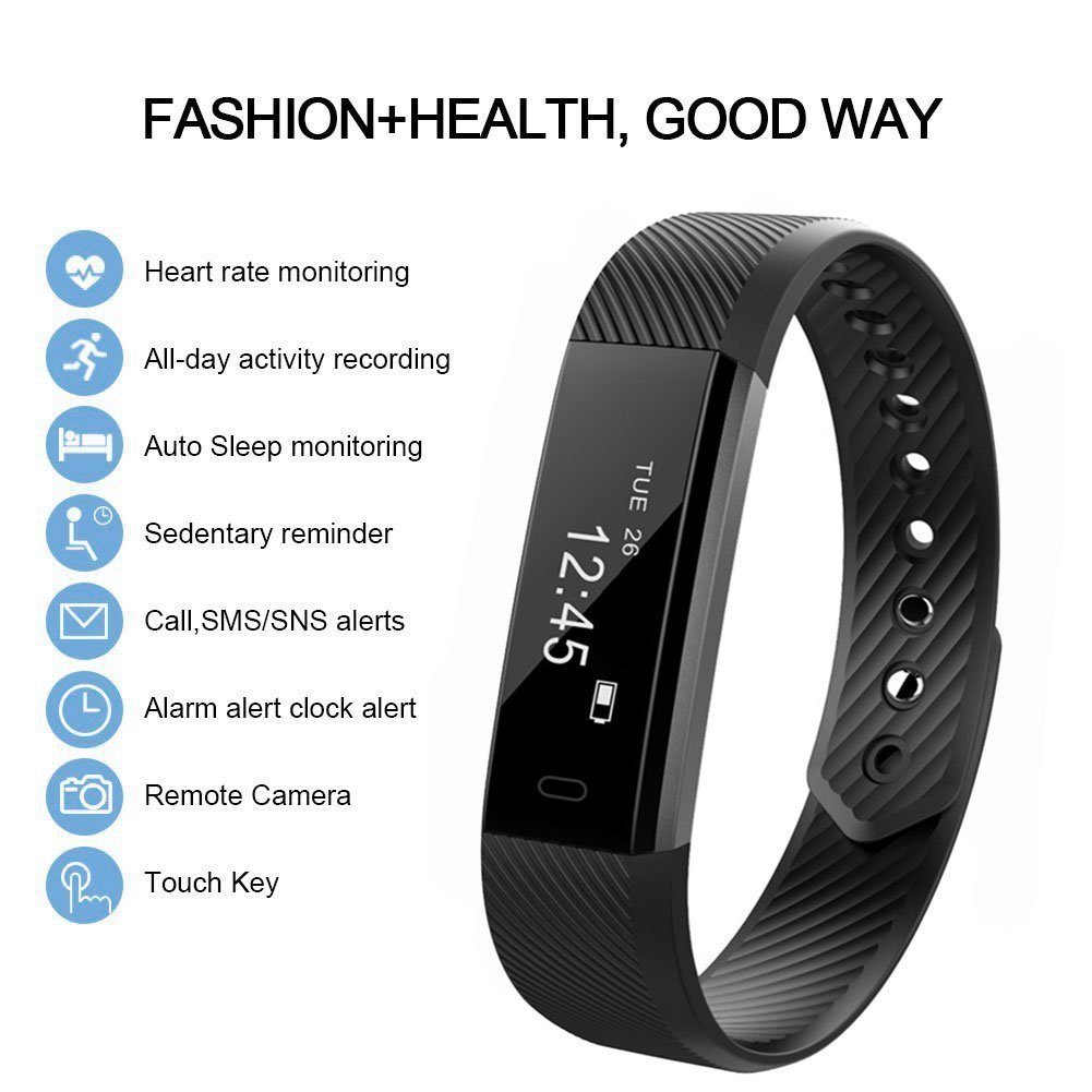 SMART WATCH WITH HEART RATE 115HR