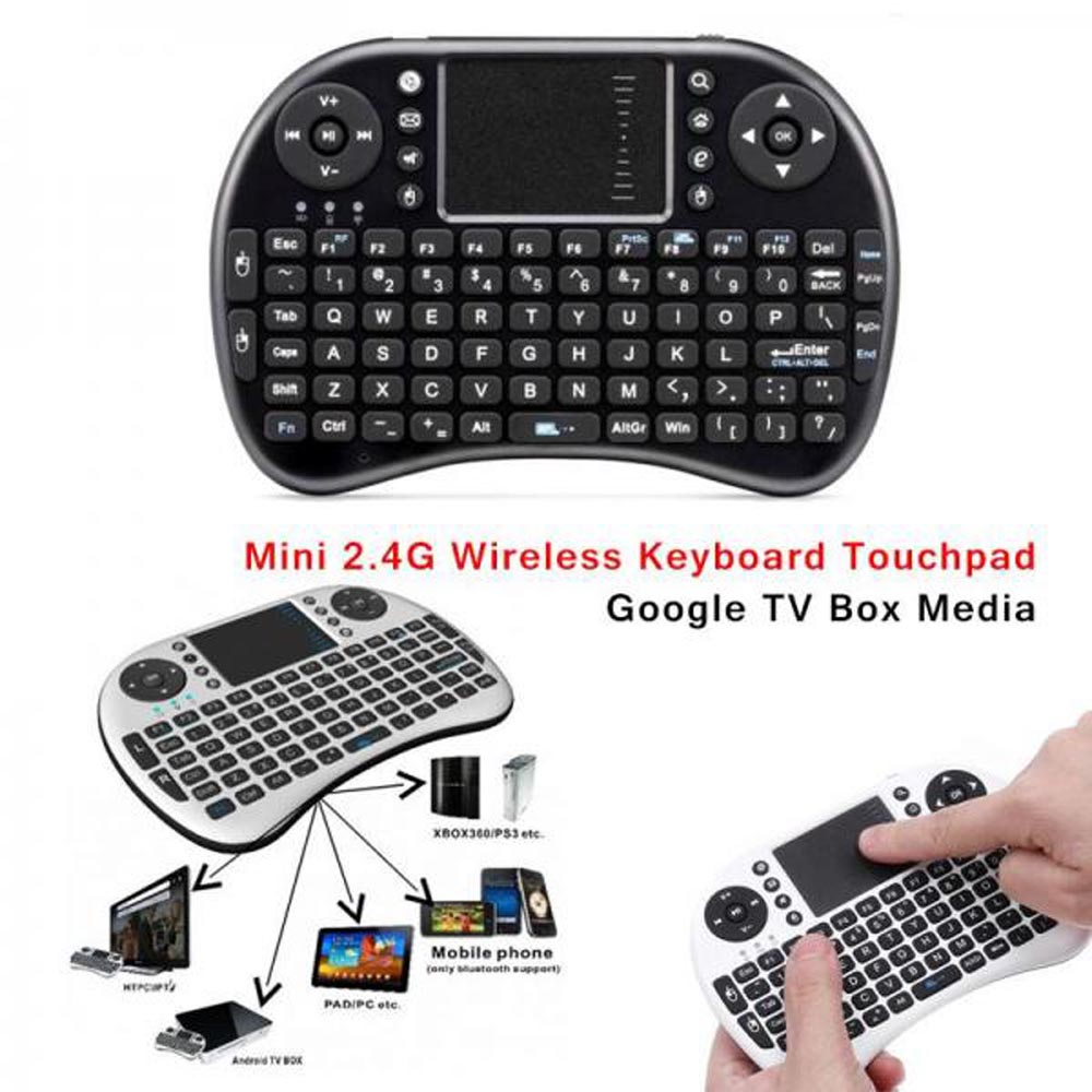 Mini Touch Pad Rf500 Keyboard Mouse Bluetooth For Smart Phone Mobile Android Wishhub